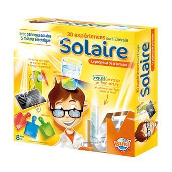 buki 30 exp riences sur l 39 energie solaire jeux scientifiques acheter sur. Black Bedroom Furniture Sets. Home Design Ideas