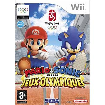 mario sonic aux jo sur nintendo wii jeux vid o achat. Black Bedroom Furniture Sets. Home Design Ideas