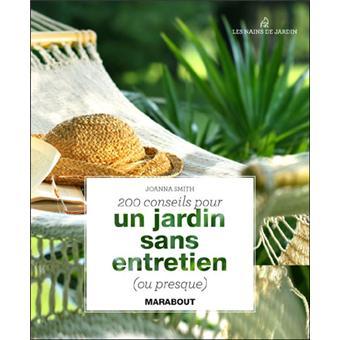 Un jardin sans entretien broch joanna smith achat for Un jardin sans entretien