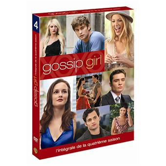 gossip girl coffret int gral de la saison 4 coffret dvd. Black Bedroom Furniture Sets. Home Design Ideas