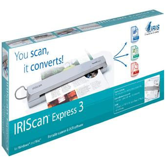 Scanner IRIS IRISCAN EXPRESS3 BLANC