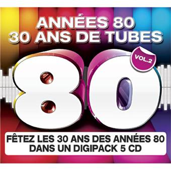 ann es 80 30 ans de tubes compilation cd album achat prix fnac. Black Bedroom Furniture Sets. Home Design Ideas