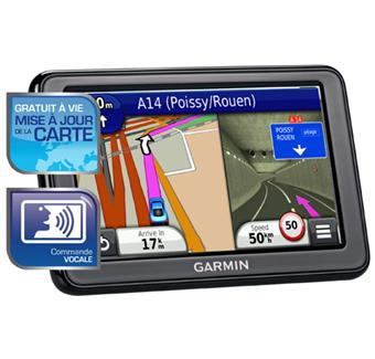 gps garmin n vi 2595 lm gamme advance europe gratuit vie mise jour de la carte gps. Black Bedroom Furniture Sets. Home Design Ideas