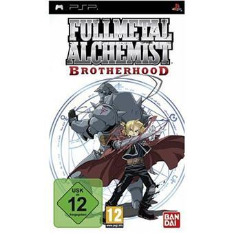 a FullMetal Alchemist Brotherhood Jeu PSP