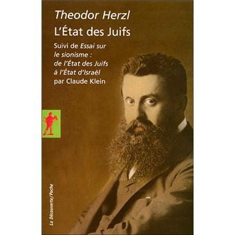 L'état des juif T. Herzl