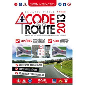 r ussir votre code de la route 2013 2 dvd dvd zone 2. Black Bedroom Furniture Sets. Home Design Ideas