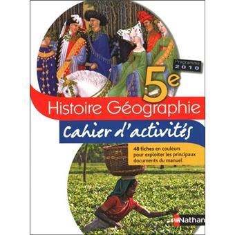 Telecharger Activite Du Livre D Histoire Geo De 5eme De
