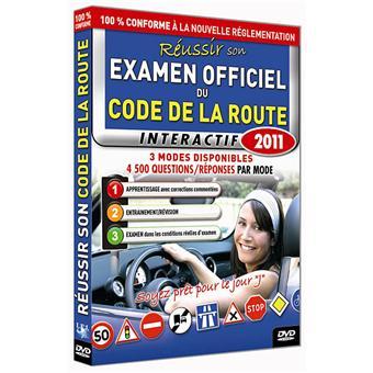 le code de la route 2011 r ussir son examen officiel dvd zone 2. Black Bedroom Furniture Sets. Home Design Ideas