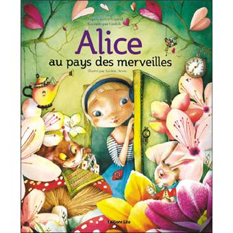 Alice au pays des merveilles grands classiques petits pas cartonn gudu - Montre lapin alice au pays des merveilles ...