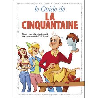 Le guide de la cinquantaine en bd cartonn goupil for Le guide des prix