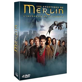 Merlin merlin coffret de la saisons 4 coffret dvd dvd zone 2 james hawes colin morgan - Coffret coloriage cars leclerc ...