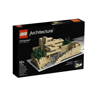 lego architecture 21005 fallingwater lego achat. Black Bedroom Furniture Sets. Home Design Ideas