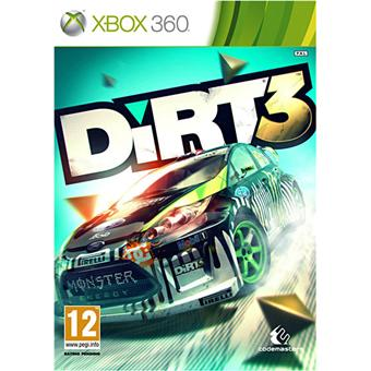 dirt 3 sur xbox 360 jeux vid o top prix. Black Bedroom Furniture Sets. Home Design Ideas