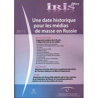 Une date historique pour les masses en Russie