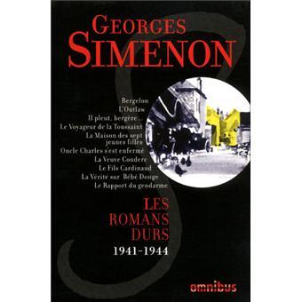 Les Romans durs 1941-1944 - volume 5