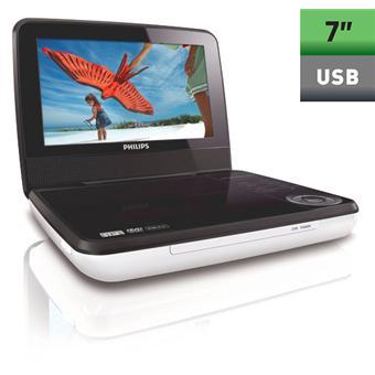 philips pd7030 lecteur dvd portable top prix sur. Black Bedroom Furniture Sets. Home Design Ideas