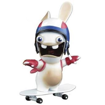 Lapins cr tins figurine lapin skateboard sur jeux vid o achat prix fnac - Jeux lapin cretain gratuit ...