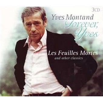 Les feuiles mortes yves montand cd album achat for Le jardin yves montand