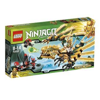Lego ninjago 70503 le dragon d 39 or lego achat prix fnac - Ninjago les 4 armes d or ...