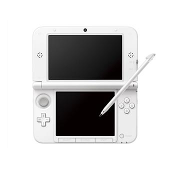console nintendo 3ds xl blanc console de jeux portable. Black Bedroom Furniture Sets. Home Design Ideas
