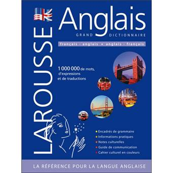 Grand dictionnaire larousse fran ais anglais et anglais for Jardin anglais traduction