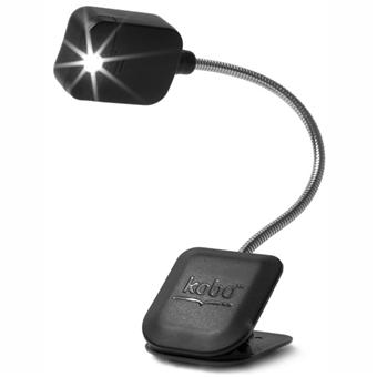 kobo lampe de lecture clip light pour liseuse num rique kobo by fnac noire accessoires ebook. Black Bedroom Furniture Sets. Home Design Ideas
