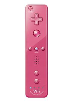 Manette wiimote plus rose manette wii rose nintendo - Comment connecter manette wii a la console ...