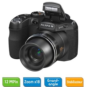 Fujifilm finepix s2500hd noir appareil photo num rique for Finepix s1 fnac