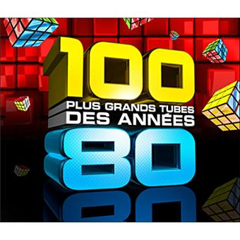 les 100 plus grands tubes des ann es 80 compilation cd album achat prix fnac. Black Bedroom Furniture Sets. Home Design Ideas