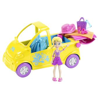 Mattel polly pocket duo cabriolet piscine univers for Piscine polly pocket