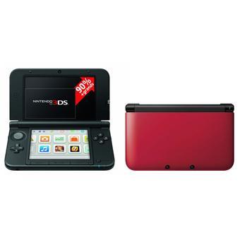 console nintendo 3ds xl rouge noire console de jeux portable achat prix fnac. Black Bedroom Furniture Sets. Home Design Ideas