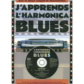 j 39 apprends l 39 harmonica blues avec un harmonica broch d baker achat livre achat prix. Black Bedroom Furniture Sets. Home Design Ideas