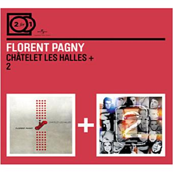 ch telet les halles 2 cd album en florent pagny tous. Black Bedroom Furniture Sets. Home Design Ideas