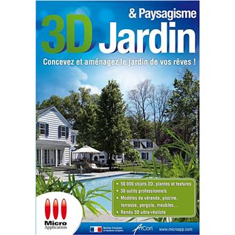 3d jardin paysagisme dvd rom acheter sur. Black Bedroom Furniture Sets. Home Design Ideas