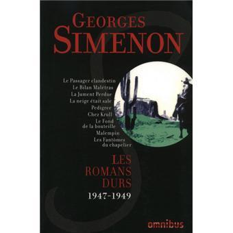 LES Romans durs 1947-1949 - volume 7