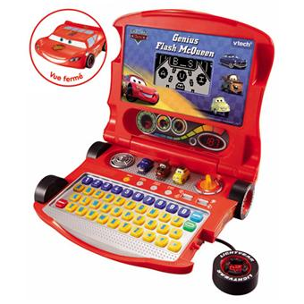Vtech genius flash mcqueen cars ordinateur ducatif - Jeu gratuit cars flash mcqueen ...