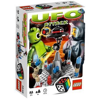 lego jeux de soci t 3846 ufo attack lego achat prix fnac. Black Bedroom Furniture Sets. Home Design Ideas