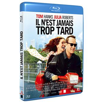 il n 39 est jamais trop tard blu ray blu ray tom hanks tom hanks julia roberts achat. Black Bedroom Furniture Sets. Home Design Ideas