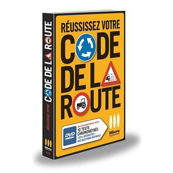 r ussissez votre code de la route livre avec un dvd livre dvdrom collectif achat livre. Black Bedroom Furniture Sets. Home Design Ideas