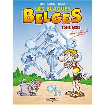 blagues belges en bd tome 2 tome deux fois larbier jim pluk cartonn achat livre. Black Bedroom Furniture Sets. Home Design Ideas