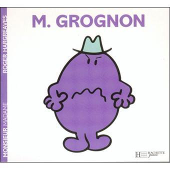 Monsieur madame monsieur grognon roger hargreaves - Collection livre monsieur madame ...