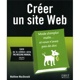 cr er un site web broch matthew mcdonald achat livre achat prix fnac. Black Bedroom Furniture Sets. Home Design Ideas