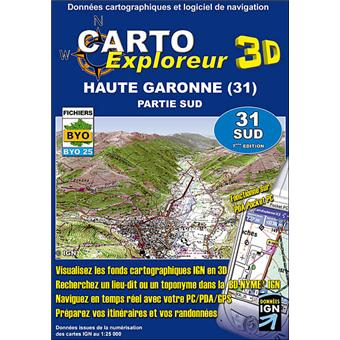 haute garonne sud 1 cd rom d partement 31 en 3d collectif achat livre achat prix fnac. Black Bedroom Furniture Sets. Home Design Ideas