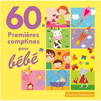 60 premi res comptines pour b b enfant cd album achat prix fnac. Black Bedroom Furniture Sets. Home Design Ideas