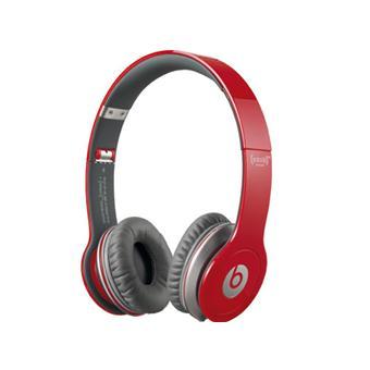 casque beats by dr dre solo hd red rouge casque audio top prix sur. Black Bedroom Furniture Sets. Home Design Ideas