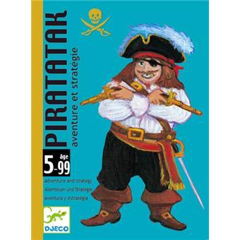 DJECO  Jeu de cartes  Piratak  jeu de société  pirates