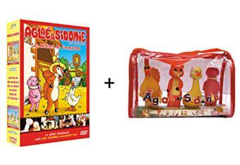 agla et sidonie les b tises de croquetou les jeux d 39 agla et sidonie coffret coffret dvd. Black Bedroom Furniture Sets. Home Design Ideas
