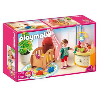 playmobil 5334 chambre de b b avec berceau playmobil achat prix fnac. Black Bedroom Furniture Sets. Home Design Ideas