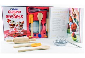 L 39 atelier cuisine des enfants coffret laurence du for Ustensile de cuisine pour enfant