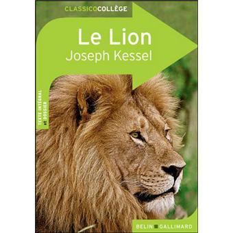 le lion de joseph kessel broch val rie temman achat livre achat prix fnac. Black Bedroom Furniture Sets. Home Design Ideas